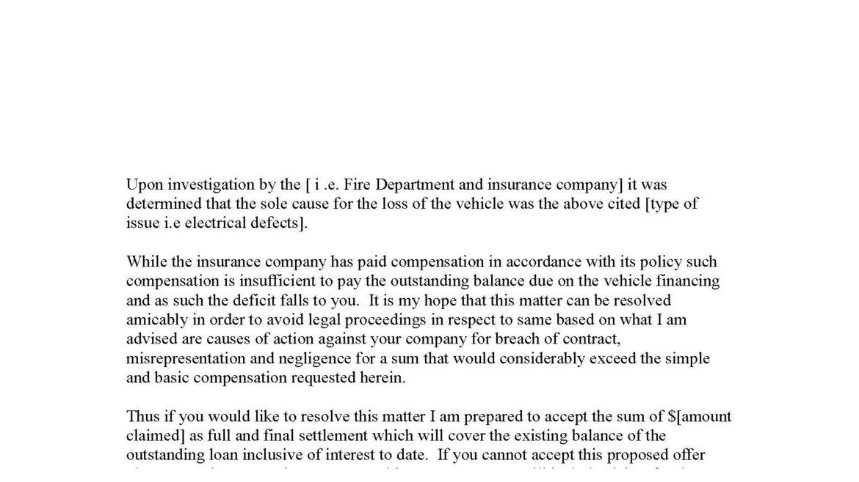 Pre-Litigation Letter To Car Dealership Regarding Vehicle Deficiencies After Purchase
